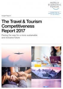 couverture Rapport Tourisme compétitivité 2017